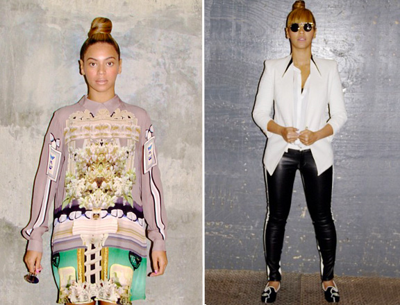 Beyonce outfits instagram