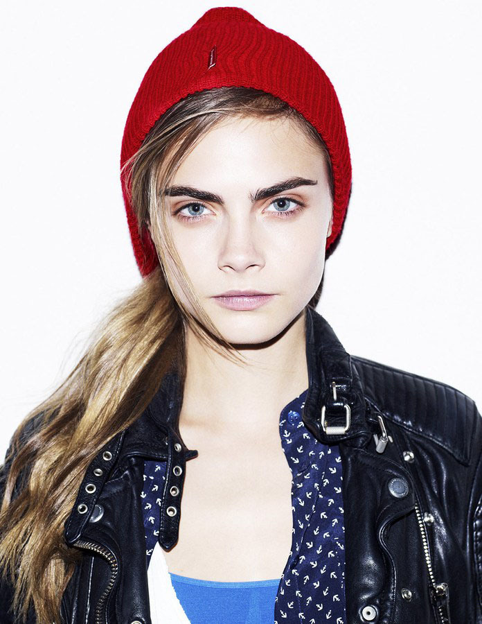 cara delevingne cover style.com model voorpagina
