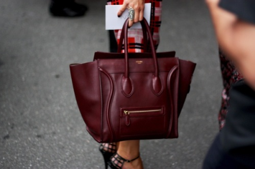 Be inspired: burgundy