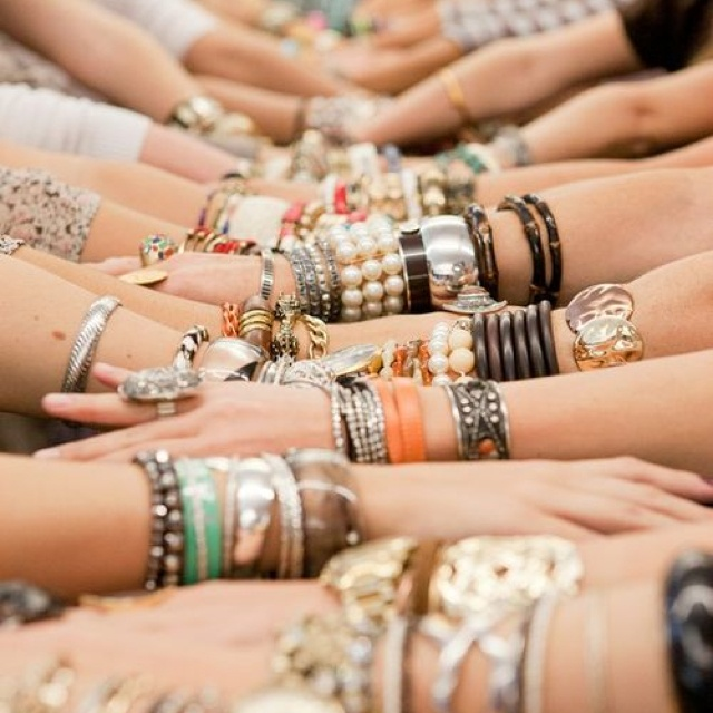 Be inspired: arm parties